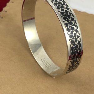 Coach Jewelry - Vintage Coach Logo Bangle Bracelet